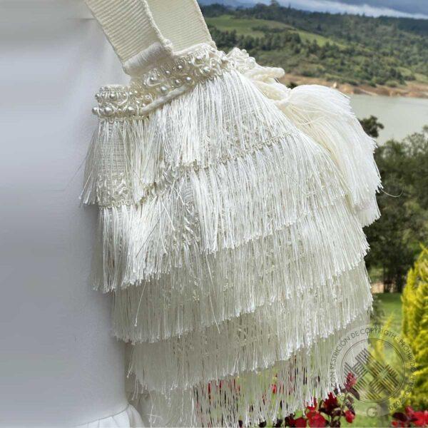 Mochila Deluxe Flecos Blancos 3