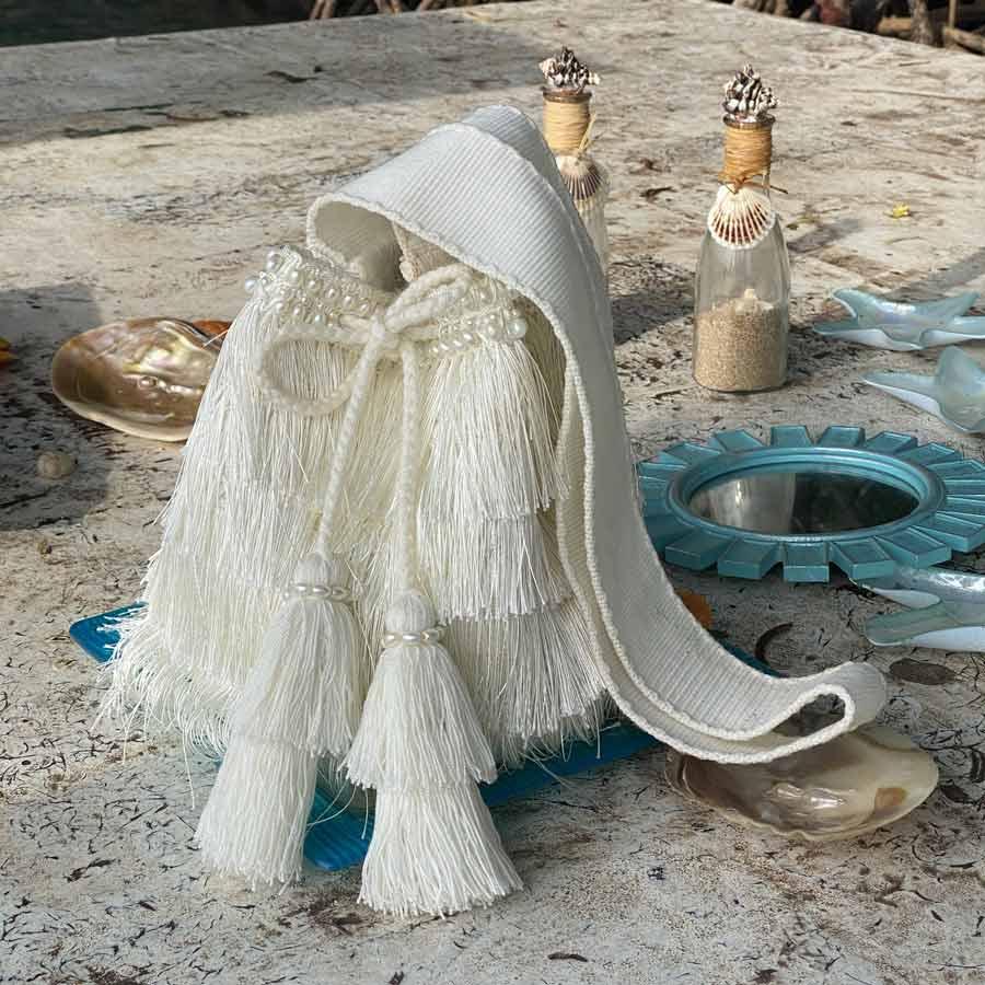 Mochila Deluxe Flecos Blancos 2
